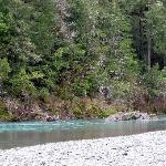  Brookings - Loeb SP - boaters floating down the Chetco River