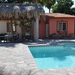 All Casitas around a sparkling pool