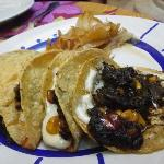 please order the huitlacoche quesadilla - delicious!