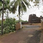  entrance from fort side
