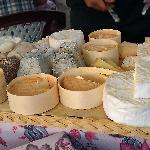 a variety options of cheese