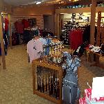 Fully stocked Golf Shop