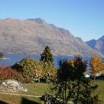 View from our room, Copthorne Lakefront Resort, Queenstown NZ