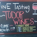 Tudor Wines Tasting Room