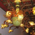 Loved the Murano Glass Chandeliers!