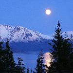 Full Moon over Kachemak Bay