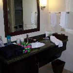 Bathroom vanity.  It was pretty good sized.