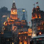  The bund in the evening