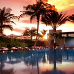 ENJOY A BREATHTAKING SUNSET AT OUR WONDERFUL POOL