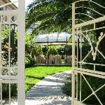  Street gate into the private garden