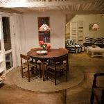 Dining area/living room, Salama cottage