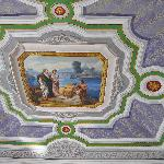 Pino & Pina's newly painted ceiling