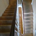 filthy, smelly carpet on stairs btn 2nd & 3rdfloors