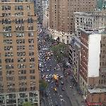 View from 20th floor room. 6th avenue.