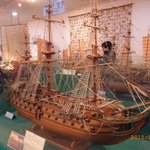 The world Modelship Exhibition Hall