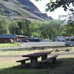 RV Park & Motel along Salmon River