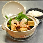 Seafood claypot