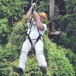 first or second zip line.