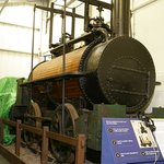 An engine in the museum
