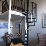  Room #51, spiral stair to loft