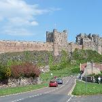 Lovely Bamburgh just a stone's throw away