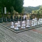 Giant Chess Set to Play With