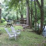  relax by the creek at the creekside lodge