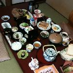 Japanese and Western breakfast at Ohanabo.