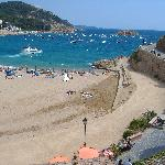 Beach/Bay at Tossa de Mar