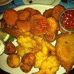 early bird seafood platter $12.95