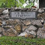 Entrance to the Old Baptist Cemetery