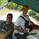 Our boat captains, John and Jim