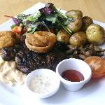 Surf and Turf at The Royal Talbot ! Total Quality.