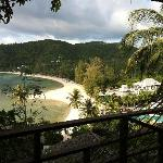 view from the resort, my panorama cottage