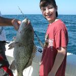  Catching a gray grouper