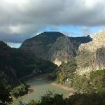  El chorro view from top of the road