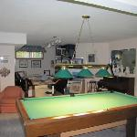  Looking to the left of the pool table
