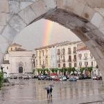 Double rainbow in Sulmona