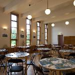 The breakfast hall