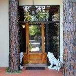 Entrance to Guest House