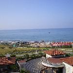 View of the Med from our balcony