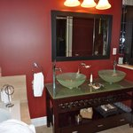                    More of the bathroom of the English Manor Suite