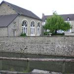 exterior with moat