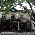 The Swan desde Hyde Park