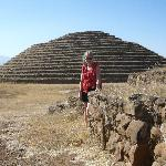  nearby round pyramid ruins
