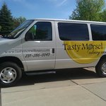 Enjoy a tour in the comfort of the Tasty Morsel-mobile.