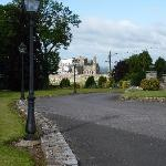 """View of """"The Rock"""" from driveway at Hill House"""