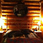  Our cozy room, one of the suites built over the homestead stone cellar