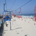 Seaside Heights sky ride 10 min. away
