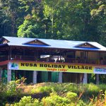 The only Jungle Lodge at Taman Negara